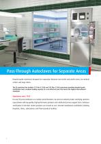 GS Double Door Pass-Through Autoclave - 2