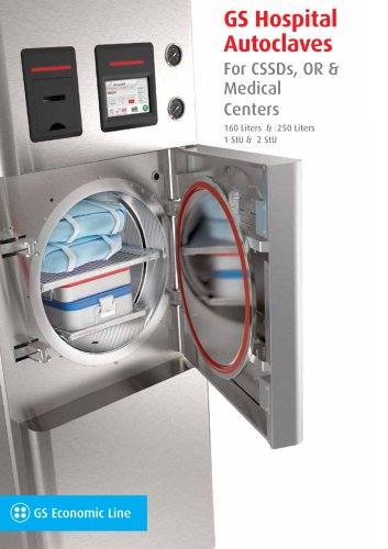 GS Hospital Autoclaves