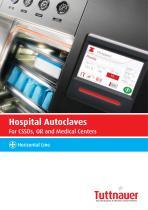 Horizontal Line Hospital Autoclaves - 1