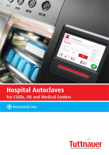 Horizontal Line Hospital Autoclaves