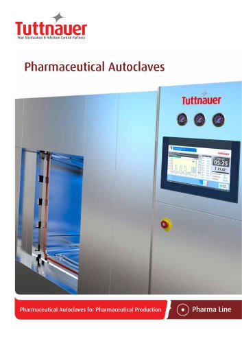 Pharmaceutical Autoclaves for Pharmaceutical Production