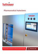 Pharmaceutical Autoclaves for Pharmaceutical Production - 1