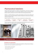 Pharmaceutical Autoclaves for Pharmaceutical Production - 2