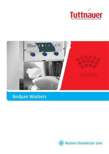 Revo Bedpan Washer