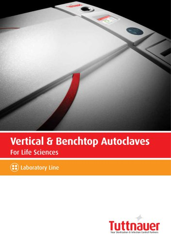 Vertical & Benchtop Autoclaves
