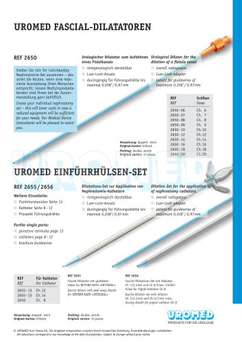 UROMED Fascial Dilator