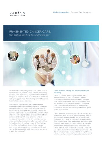 oNCOLOGY CARE MANAGEMENT