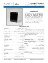 PaxScan® 2520XI/V - 1