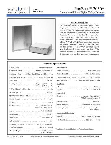 PaxScan 3030+