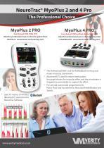 NeuroTrac® MyoPlus 2 and 4 Pro