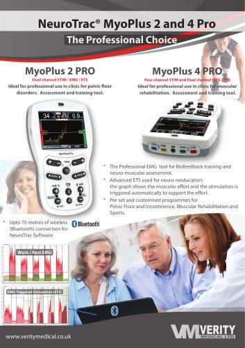 NeuroTrac® MyoPlus2 Pro