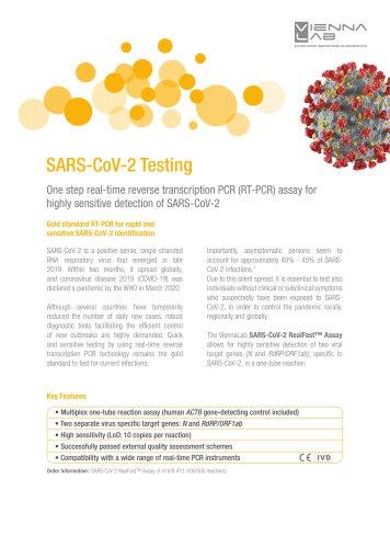 SARS-CoV-2 Testing (RT-PCR)