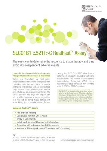 SLCO1B1 RealFast Assay