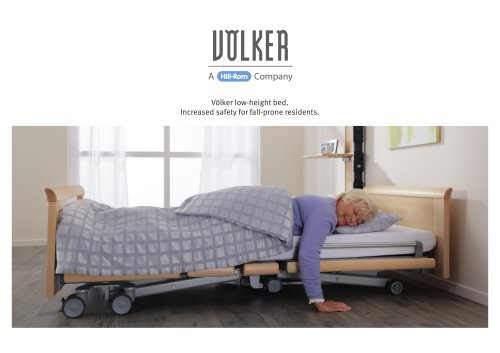 Völker low-height bed