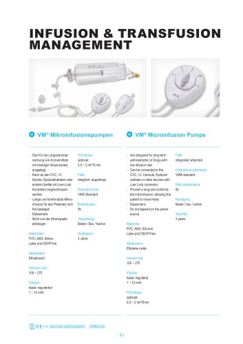 Microinfusion Pumps for Chemotherapy