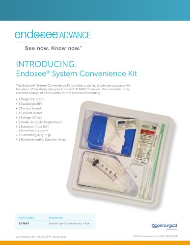 Endosee Advance Convenience Kit
