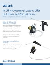 Wallach Cryosurgical Systems Sell Sheet - 1