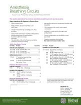 Anesthesia Braething Circuits - 2