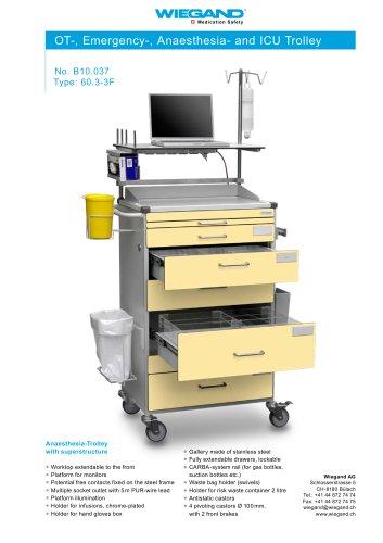 OT-, Emergency-, Anaesthesia- and ICU Trolley