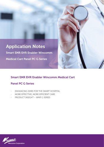 Application Notes - Smart EMR EHR enabler Wincomm Medical Cart Panel PC G Series