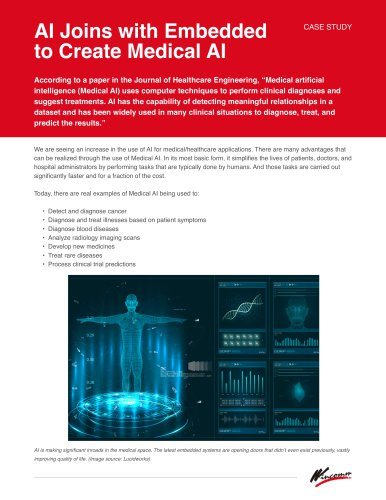 White Paper - AI Joins with Embedded to Create Medical AI