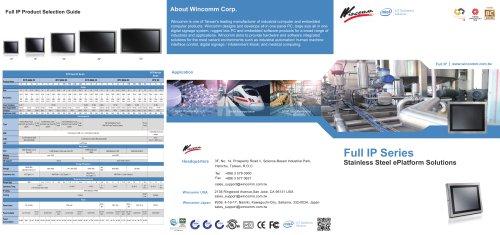 Wincomm Full IP Panel PC Brief Solutions