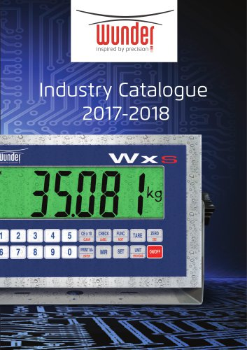 CATALOG WUNDER INDUSTRY 2017-18