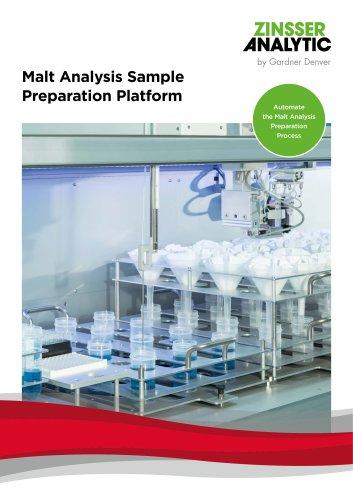 Malt Analysis Sample Preparation Platform
