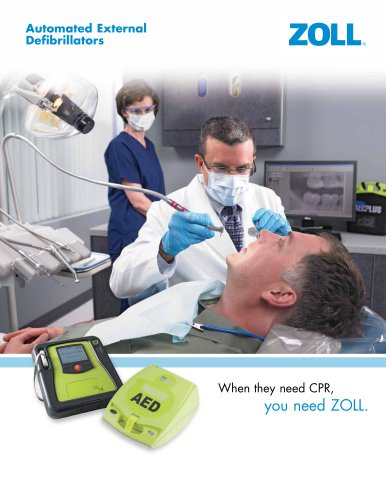 AED Brochure for Dental Offices
