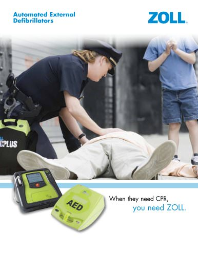 AED Brochure for Police