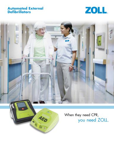 AED Brochure for Nursing Homes