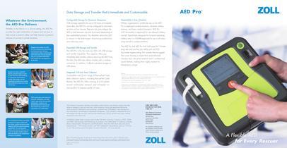 AED Pro Brochure - 1