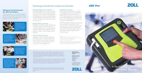 AED Pro Brochure