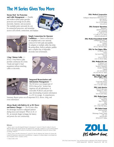 M Series Brochure - EMS Market