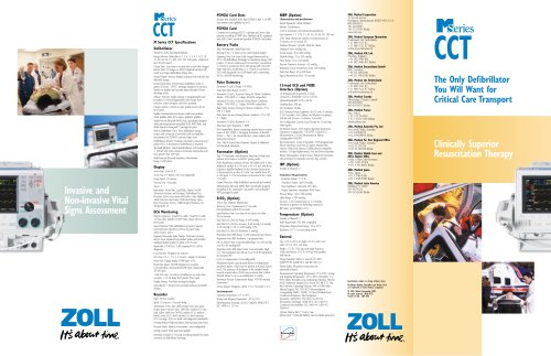 M Series CCT Brochure
