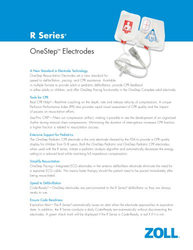 OneStep® Electrode