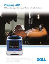 Propaq ® MD - All the Advantages of a Propaq Monitor with a Defibrillator - 1