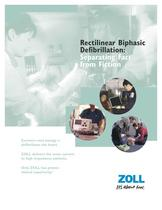 Rectilinear Biphasic Defibrillation Brochure - 1