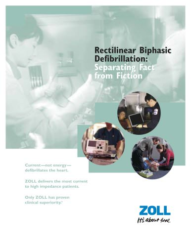 Rectilinear Biphasic Defibrillation Brochure