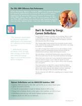 Rectilinear Biphasic Defibrillation Brochure - 2