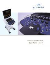 ZS3 Spec Sheet