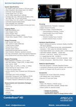 ComboScan® HD Series datasheet - 2