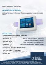 Mobile Handheld Spirometer - 1