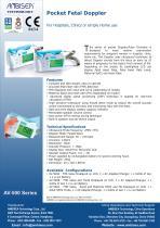 Pocket Fetal Doppler - 1