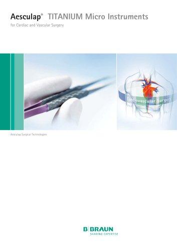 Aesculap®  TITANIUM Micro Instruments