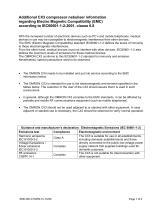 Additional CX3 compressor nebuliser information