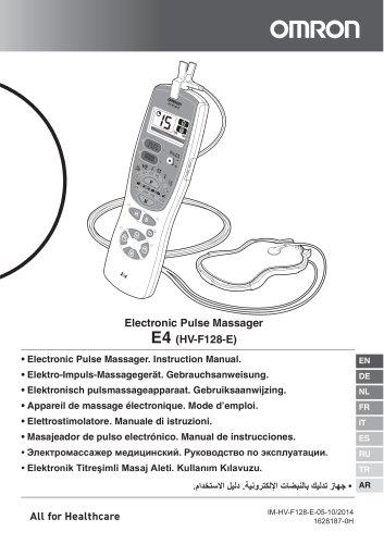 E4 - Instruction Manual