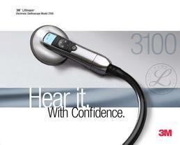 Brochure for 3M Littmann Electronic Stethoscope Model 3100