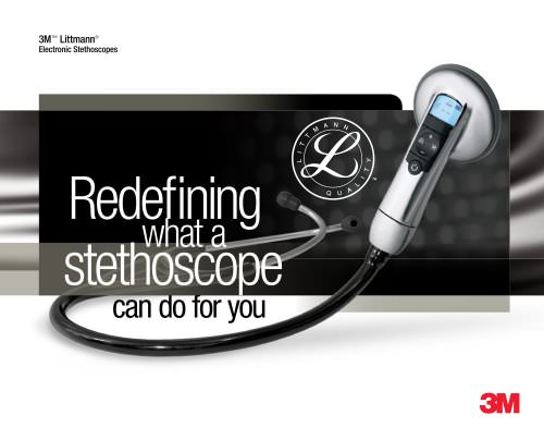 Littmann Electronic Stethoscopes