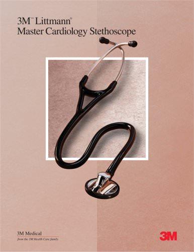 Littmann Master Cardiology Stethoscope Sales Sheet